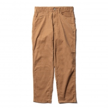 Living Concept / リビングコンセプト | SUMMER CORDUROY 5POCKET WIDE PANTS - Beige