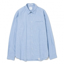 BEDWIN / ベドウィン | L/S ELBOW PATCH SHIRT 「EASTON」 - Sax