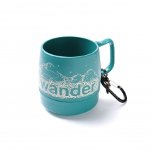and wander / アンドワンダー | and wander DINEX - Teal (L.blue)