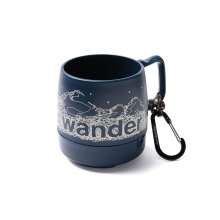 and wander / アンドワンダー | and wander DINEX - Navy
