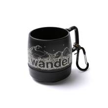 and wander / アンドワンダー | and wander DINEX - Black