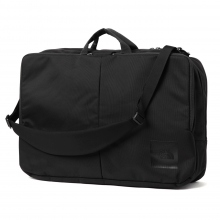 THE NORTH FACE / ザ ノース フェイス | Shuttle 3way Daypack - Black