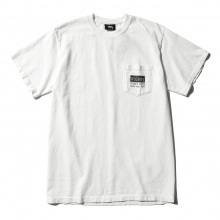 STUSSY / ステューシー | Classic Roots Pigment Dye Pocket Tee - Natural ★