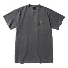 STUSSY / ステューシー | S Shield Pig Dyed Tee - Black
