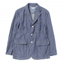 ENGINEERED GARMENTS / エンジニアドガーメンツ | Baker Jacket - Dungaree Cloth - Indigo