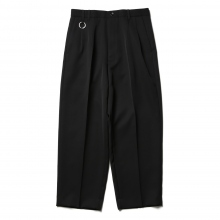 th / ティーエイチ | Wide Tapered Pants - Black