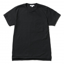 ENGINEERED GARMENTS / エンジニアドガーメンツ | EG Workaday Crossover Neck Pocket Tee - Navy