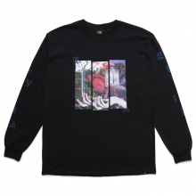 ELVIRA / エルビラ | HOIDING ROSE L/S T-SHIRT - Black~