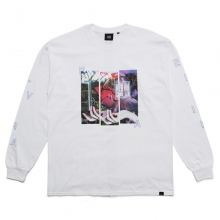 ELVIRA / エルビラ | HOIDING ROSE L/S T-SHIRT - White~