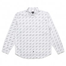 ELVIRA / エルビラ | BREAK SLANTING L/S SHIRT - White~