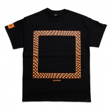 ELVIRA / エルビラ | GLITCH FRAME T-SHIRT - Black