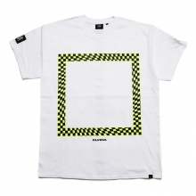 ELVIRA / エルビラ | GLITCH FRAME T-SHIRT - White