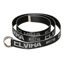 ELVIRA / エルビラ | BREAK RING BELT - Black