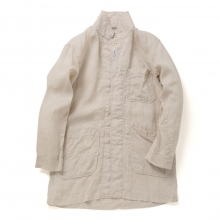 ENGINEERED GARMENTS / エンジニアド ガーメンツ | Shop Coat - Linen Handkerchief - Natural