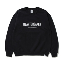 BEDWIN / ベドウィン | L/S C-NECK SWEAT 「LOU」 - Black