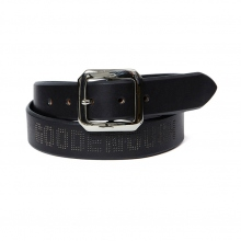 GOODENOUGH / グッドイナフ | LEATHER BELT - Black