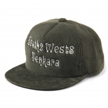 South2 West8 / サウスツーウエストエイト | Trucker Cap - S2W8 Tenkara Emb. - Olive