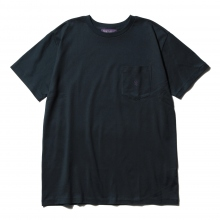 NEPENTHES / ネペンテス | NEPENTHES Purple Label - N Emb. Pocket Tee - Navy