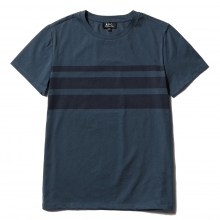 A.P.C. / アーペーセー | Jimmy Tシャツ - Border - Dark Navy