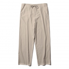 AURALEE / オーラリー | WASHED FINX TWILL EASY WIDE PANTS - Gray Beige~