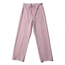 AURALEE / オーラリー | WASHED FINX TWILL EASY WIDE PANTS - Purple