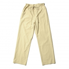 AURALEE / オーラリー | WASHED FINX TWILL EASY WIDE PANTS - Light Yellow