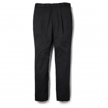 BEDWIN / ベドウィン | 10/L WOOL TAPERED FIT PANTS 「CHARLS」 - Black