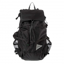 and wander / アンドワンダー | 40L back pack - Black