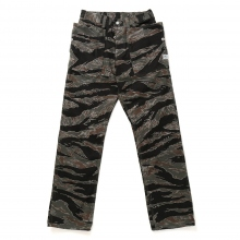 SASSAFRAS / ササフラス | FALL LEAF PANTS - Tiger Camouflage ★