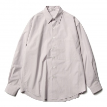 AURALEE / オーラリー | WASHED FINX TWILL BIG SHIRTS - Light Purple