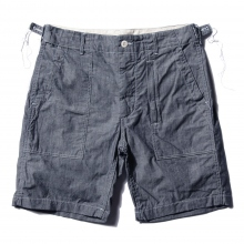 ENGINEERED GARMENTS / エンジニアドガーメンツ | Fatigue Short - Cone Chambray - Blue