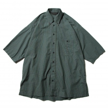 ESSAY / エッセイ | SH-1 BD BIG S/S SHIRT - Green Check