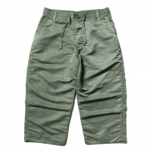Porter Classic / ポータークラシック | SUPER NYLON  MASH WIDE PANTS - Olive