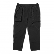 Porter Classic / ポータークラシック | SUPER NYLON STRETCH PANTS - Black ☆