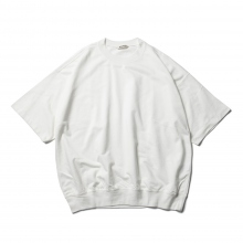AURALEE / オーラリー | SUPER HIGH GAUGE SWEAT BIG TEE - White