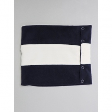 ....... RESEARCH | Neck Gaiter - フリース - Navy × White