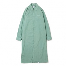 BEDWIN / ベドウィン | L/S LONG SHIRT 「DOWNEY」 - Green
