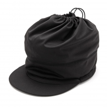 and wander / アンドワンダー | soft shell cap - Black