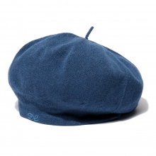 Porter Classic / ポータークラシック | HAND WORK KNIT BERET - Blue ☆