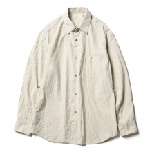 URU / ウル | STANDARD L/S SHIRTS / COTTON SILK WEATHER - Beige