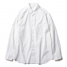 URU / ウル | STANDARD L/S SHIRTS / COTTON SILK WEATHER - White