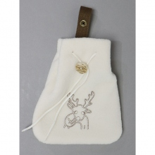 ....... RESEARCH | Stag Pouch - White