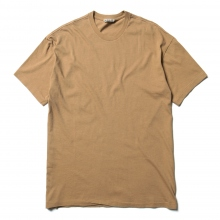 AURALEE / オーラリー | SEAMLESS CREW NECK TEE - Brown