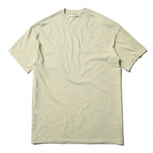 AURALEE / オーラリー | SEAMLESS CREW NECK TEE - Khaki Green
