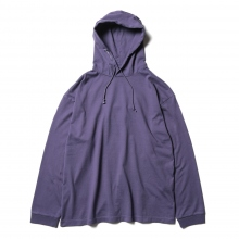 crepuscule / クレプスキュール | garment dye pocket S/S - Purple