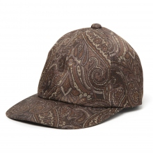 URU / ウル | PAISLEY CAP - Brown
