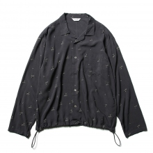 WELLDER / ウェルダー | Drawstring Shirt - Gray