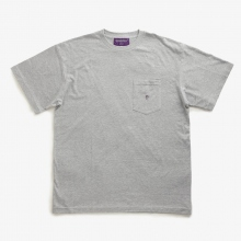NEPENTHES / ネペンテス | NEPENTHES Purple Label - N Emb. Pocket Tee - Grey ★