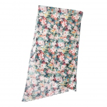 ENGINEERED GARMENTS / エンジニアドガーメンツ | Long Scarf - Floral Sheeting - White Watercolor