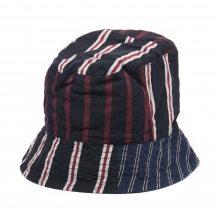ENGINEERED GARMENTS / エンジニアドガーメンツ | Bucket Hat - Regimental St. - Navy/Red/White  ☆